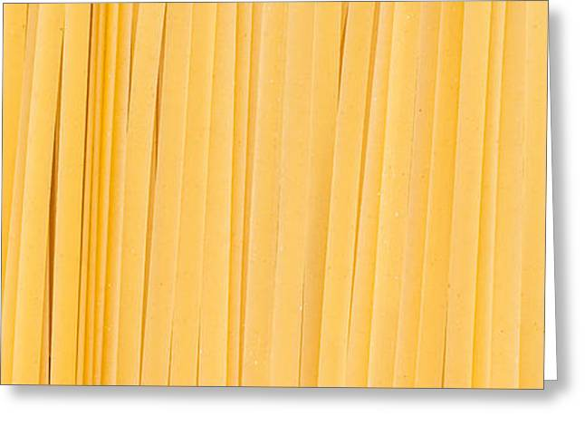 Fettuccine Pasta Number 2 Greeting Card