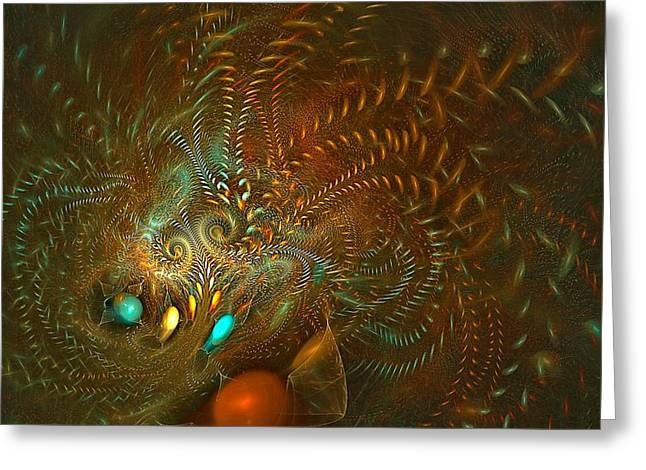 Hallucination Greeting Cards - Fever Dreams Greeting Card by Doug Morgan