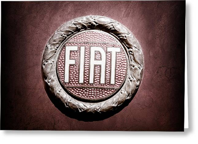 Fiat Emblem -1621ac Greeting Card