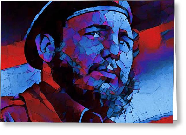 Fidel Greeting Card