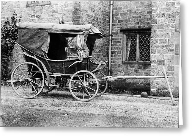 Field Ambulance Used By Florence Greeting Card