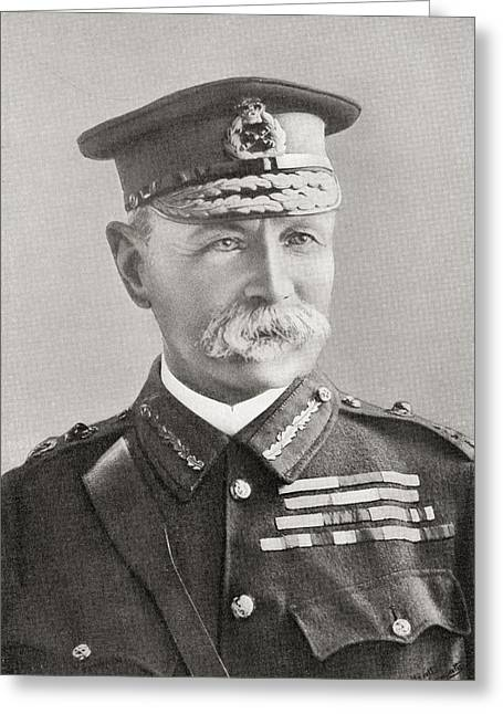 Field Marshal Frederick Sleigh Roberts Greeting Card by Vintage Design Pics