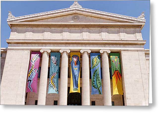 Field Museum Chicago Il Greeting Card by Panoramic Images