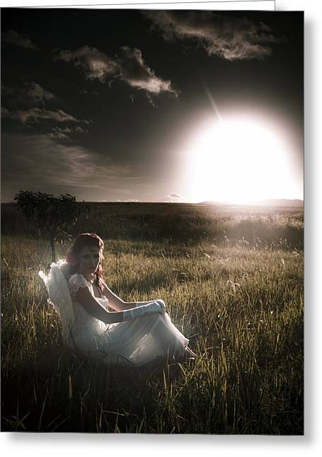 Greeting Card featuring the photograph Field Of Dreams by Jorgo Photography - Wall Art Gallery