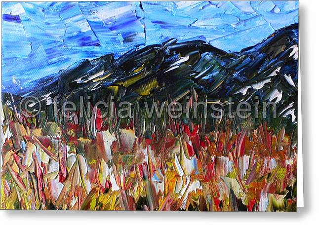 Field Of Flowers 1 Greeting Card