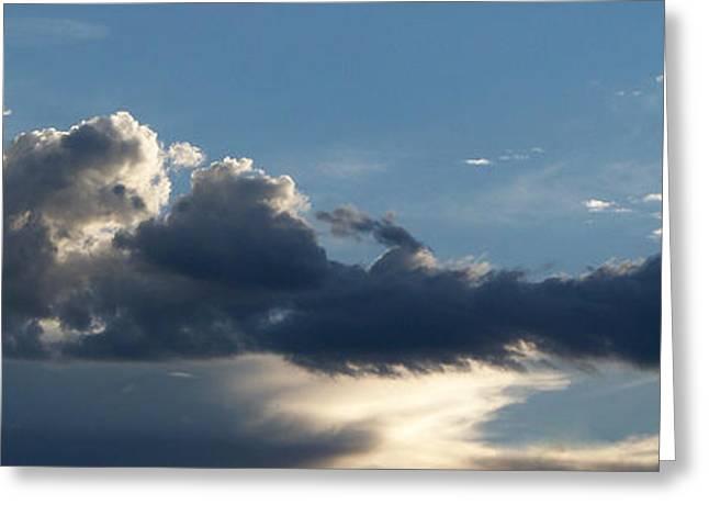 Fierce Cloud Greeting Card by Jera Sky