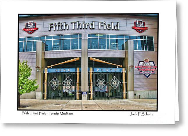 Fifth Third Field Toledo Mudhens Greeting Card