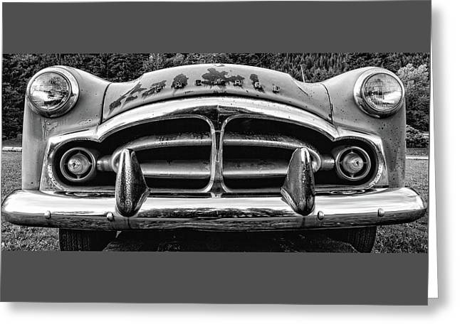 Fifty-one Packard Greeting Card