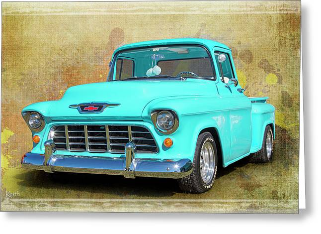 Fifty5 Stepside Greeting Card by Keith Hawley