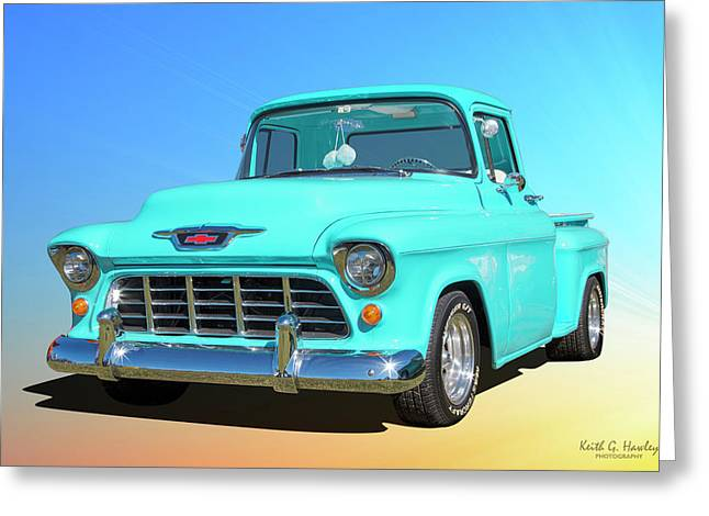 Fifty5 Stepside Pickup Greeting Card