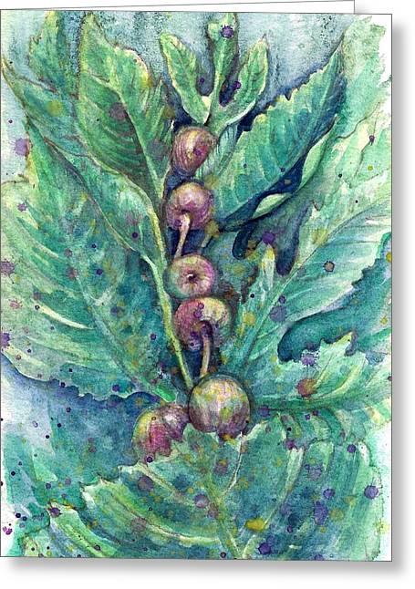 Figful Tree Greeting Card