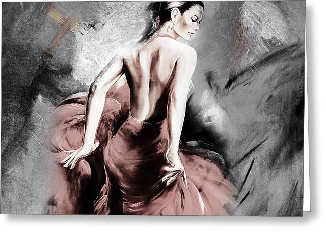 Figurative Art 007a Greeting Card