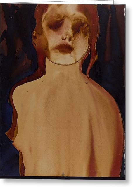 Figure Greeting Card by Graham Dean