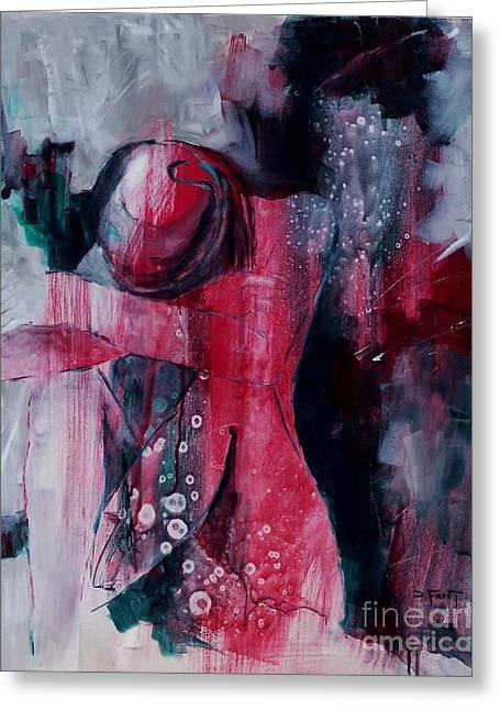 Figure Study 021 Greeting Card by Donna Frost