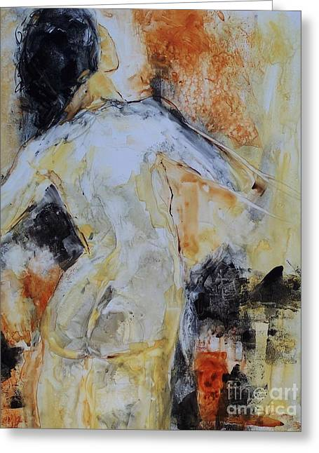 Figure Study 023 Greeting Card by Donna Frost