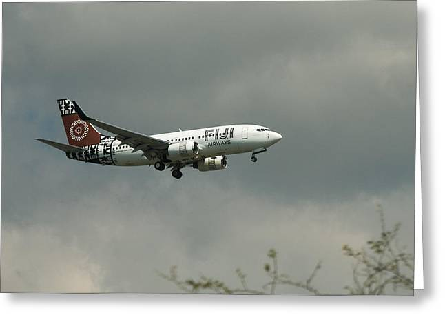 Fiji Airways Inbound Greeting Card