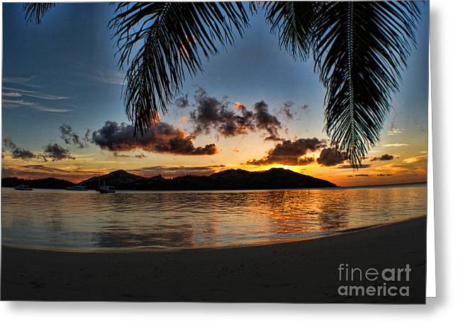 Fiji Island Dreams Greeting Card