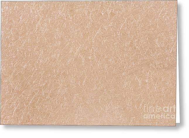 Filament Cloth Glossy Texture Greeting Card by Arletta Cwalina