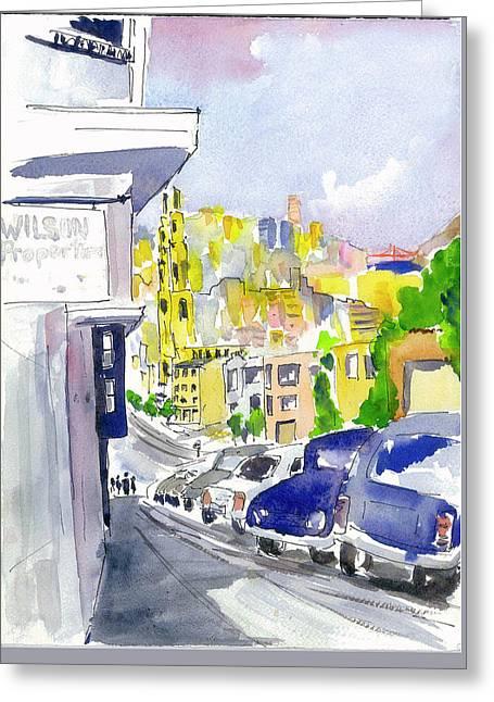 Filbert Street Greeting Card