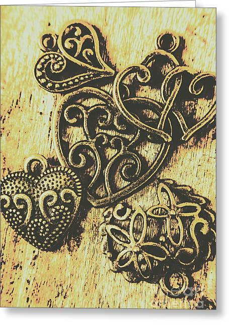 Filigree Love Greeting Card by Jorgo Photography - Wall Art Gallery