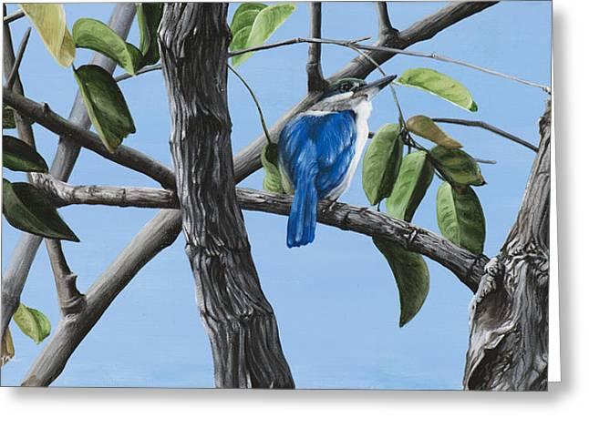 Filipino Kingfisher Greeting Card