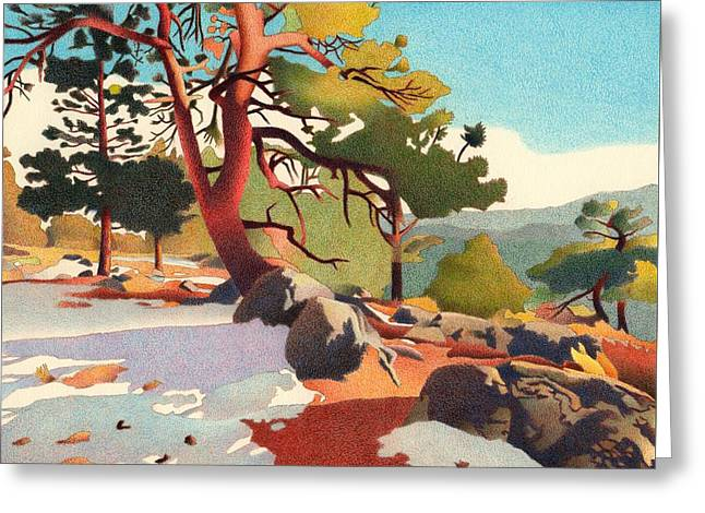 Fillius Ridge Greeting Card