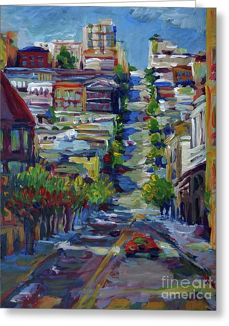 Fillmore Street Greeting Card