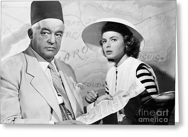 Film: Casablanca, 1942 Greeting Card by Granger
