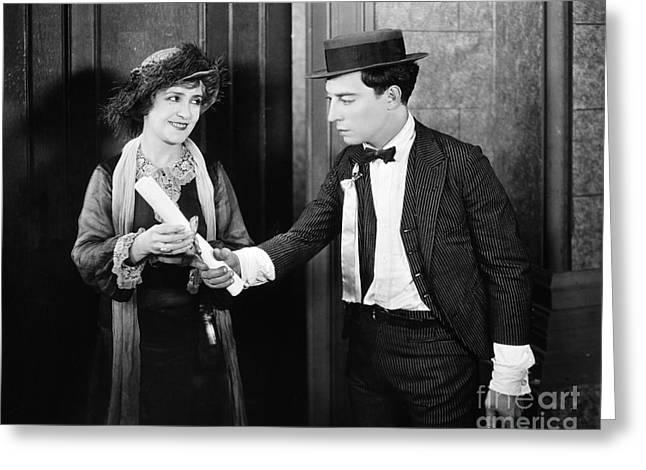 Film: College, 1927 Greeting Card
