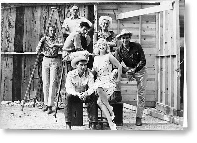 Film: The Misfits, 1961 Greeting Card