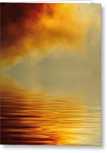 Filtered Sun Greeting Card by Jerry McElroy
