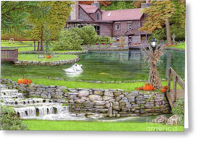 Fin N Feather At Seven Springs Greeting Card