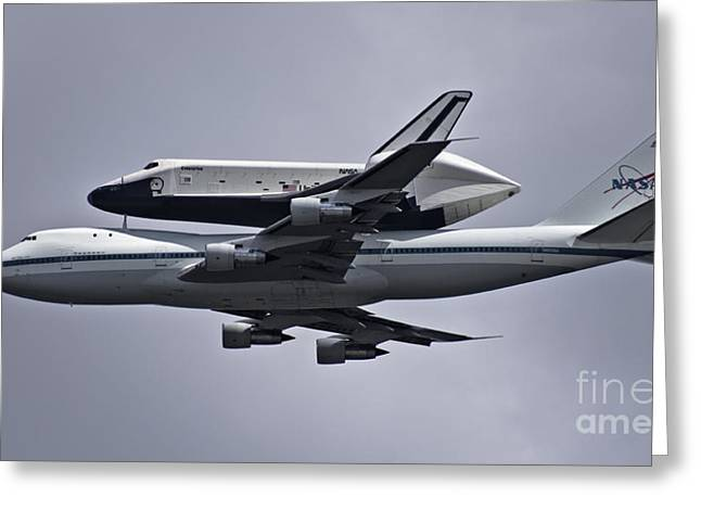 Final Approach Greeting Card by Scott Evers
