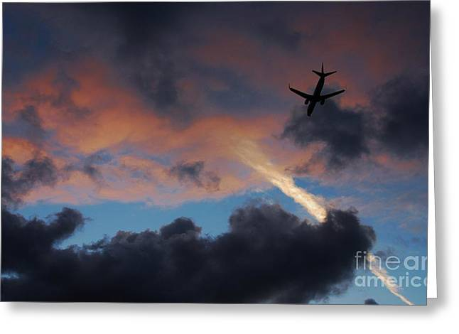 Final Destination Greeting Card by Angela J Wright