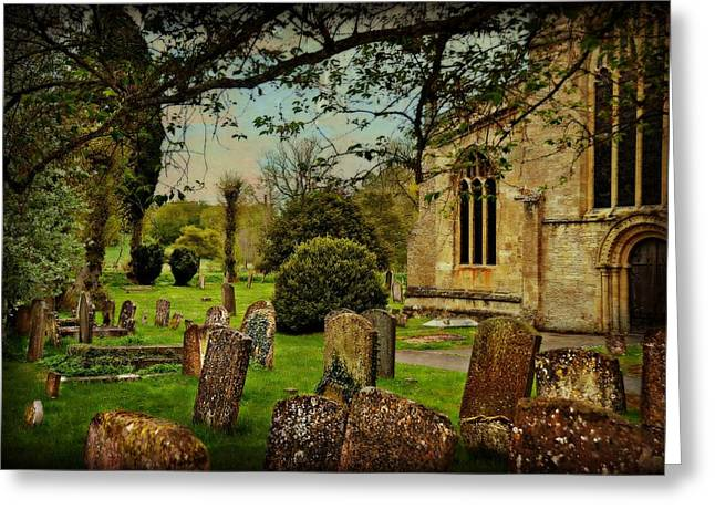 Final Rest Greeting Card by Toni Abdnour
