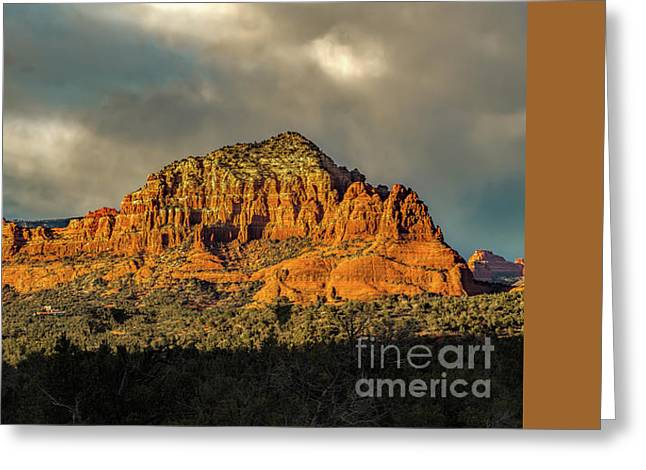 Find The Church Greeting Card by Jon Burch Photography