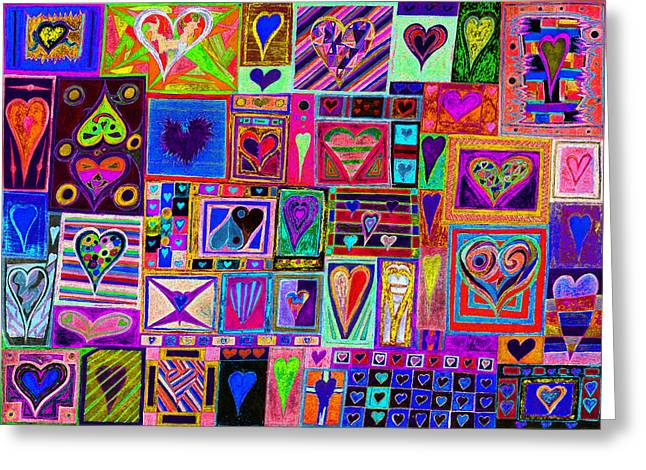 Looking For Love Greeting Cards - Find Ur Love Found 2 Greeting Card by Kenneth James