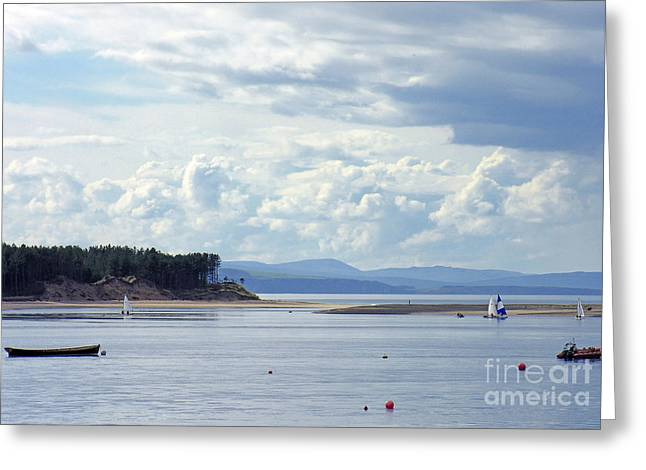 Findhorn Bay - Moray Firth Greeting Card