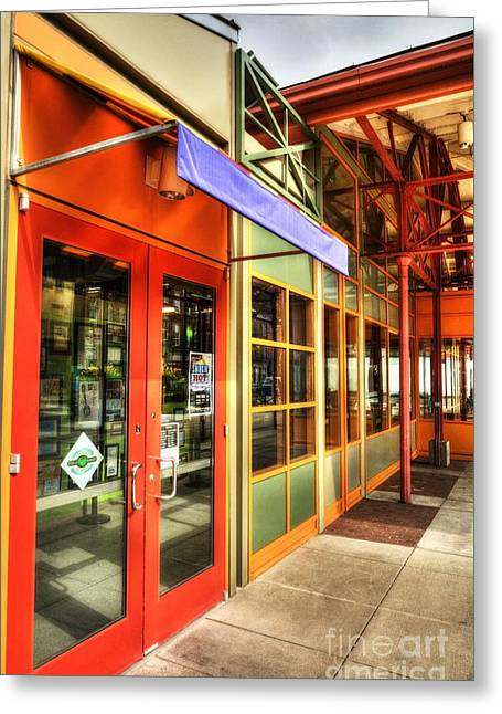 Findlay Market Colors Greeting Card