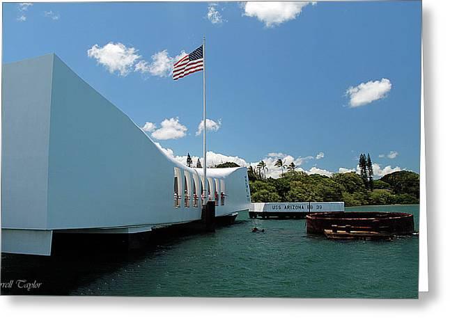 Fine Art America Pic 132 Pearl Harbor Greeting Card