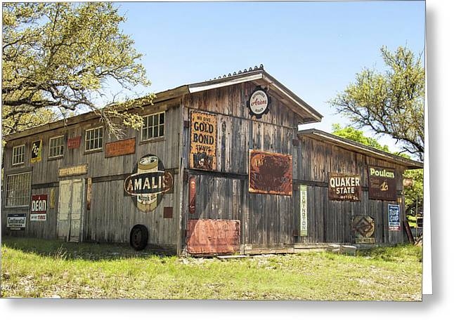 Fine Art America Pic 134 Old Barn Greeting Card