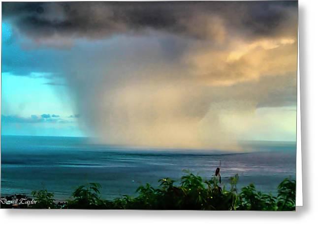 Fine Art America Pic 150 Storm In Kauai Greeting Card