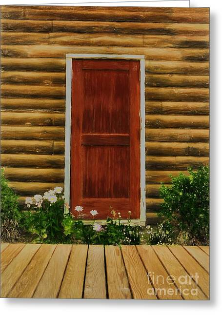 Fine Art In Skagway 2 Greeting Card