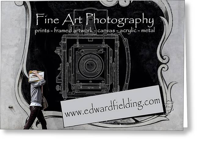 Fine Art Photography Greeting Card by Edward Fielding