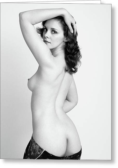 Fine Art Pin-up Greeting Card