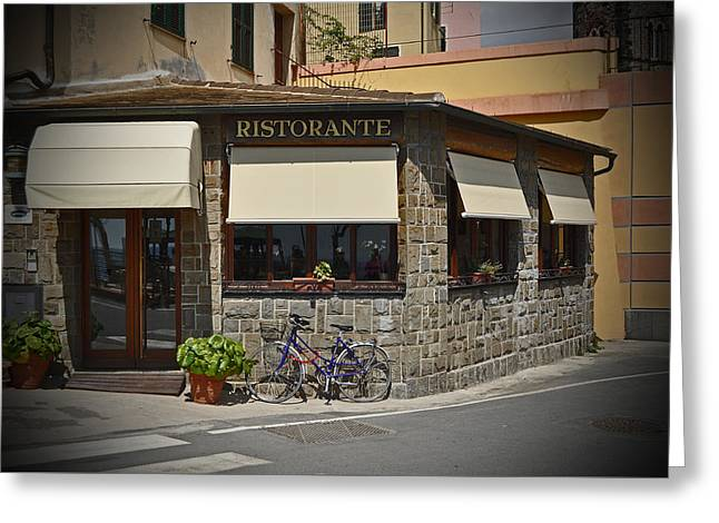Fine Dining In Italy Greeting Card