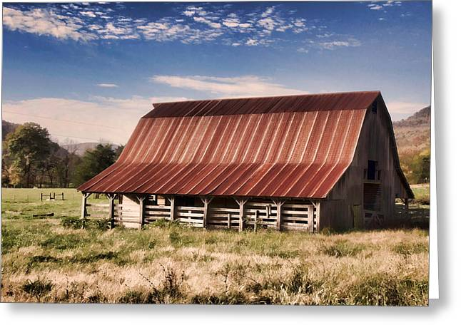 Fine Old Barn Greeting Card