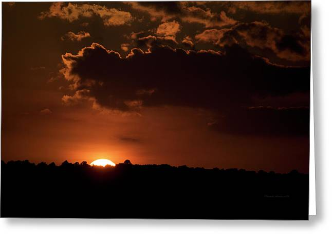 Finger Lakes New York Sunset 02 Greeting Card by Thomas Woolworth