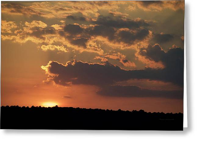 Finger Lakes New York Sunset 03 Greeting Card by Thomas Woolworth