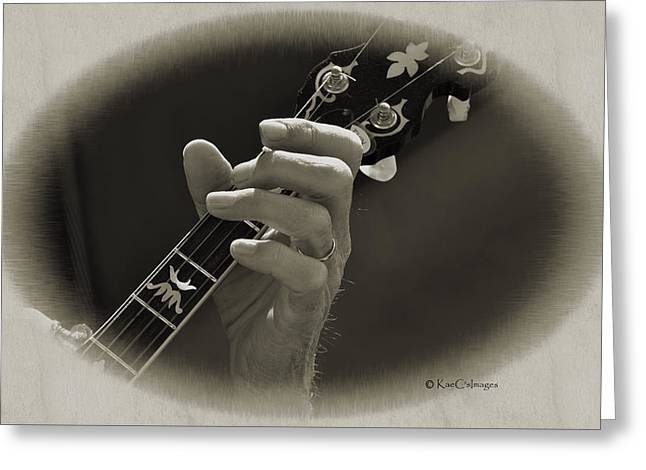 Finger Pickin' Good 1 Greeting Card by Kae Cheatham